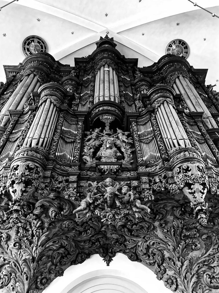 Orgelempore der Erlöserkirche