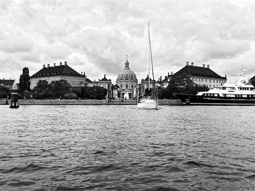 Frederiks Kirke und Amalienborg