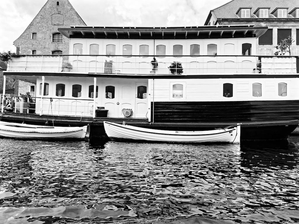Schiff Christianshavn Kanal