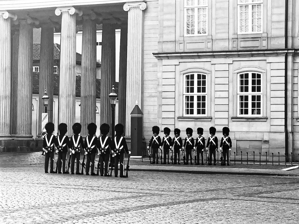 Wachablöse Schloss Amalienborg