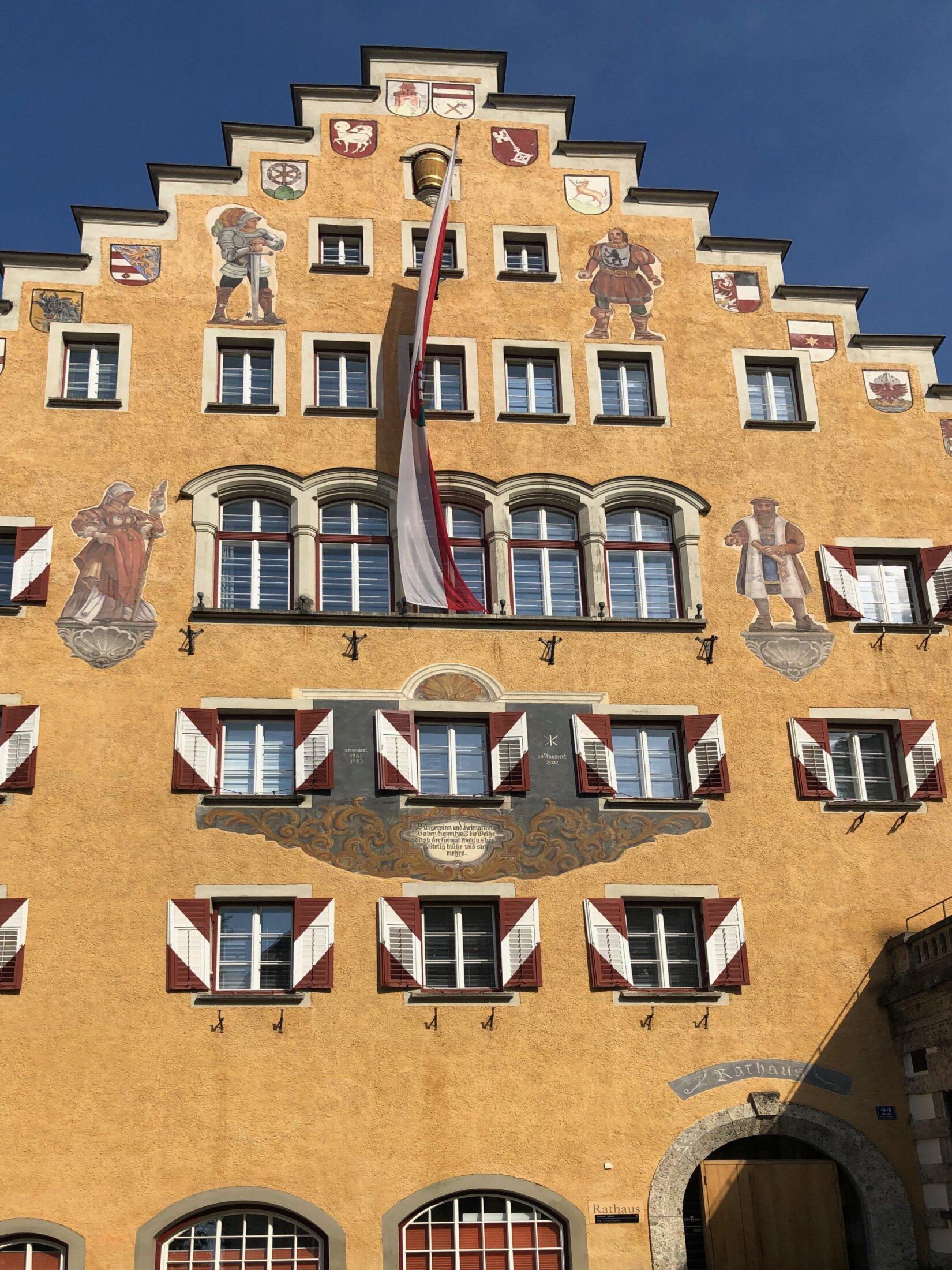 Das Rathaus Kufstein