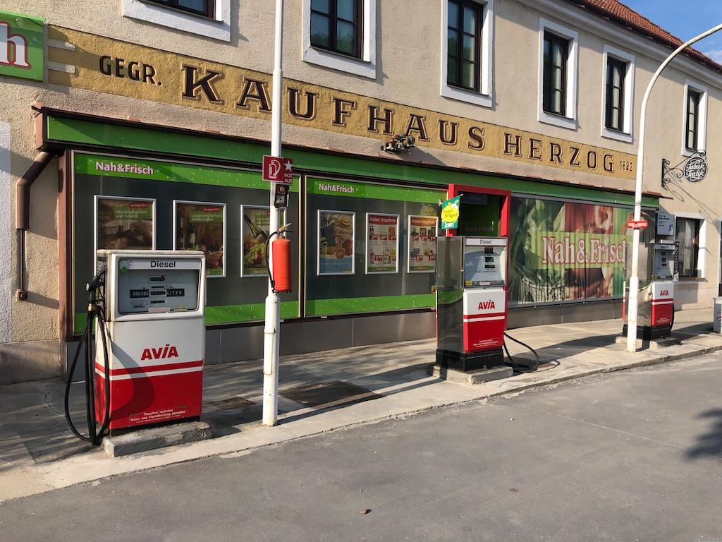 Tankstelle beim Nah&Frisch