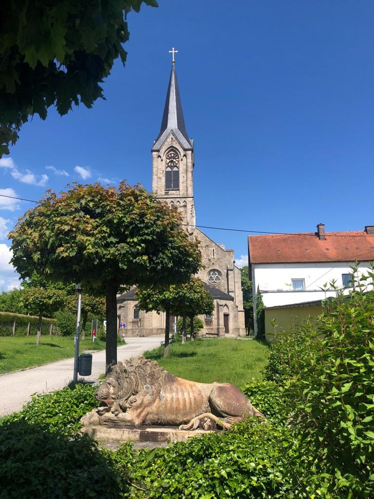 St. Anna und der Löwe