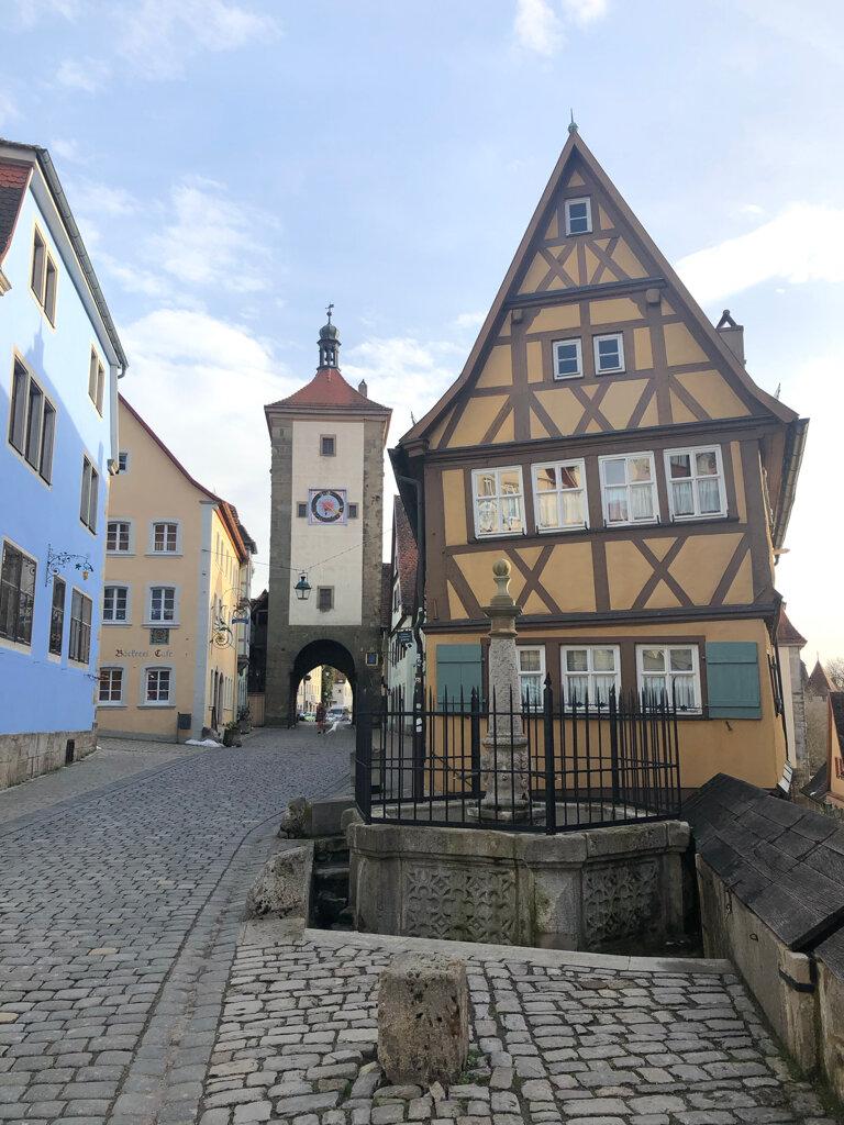 Plönlein und der Sieberturm