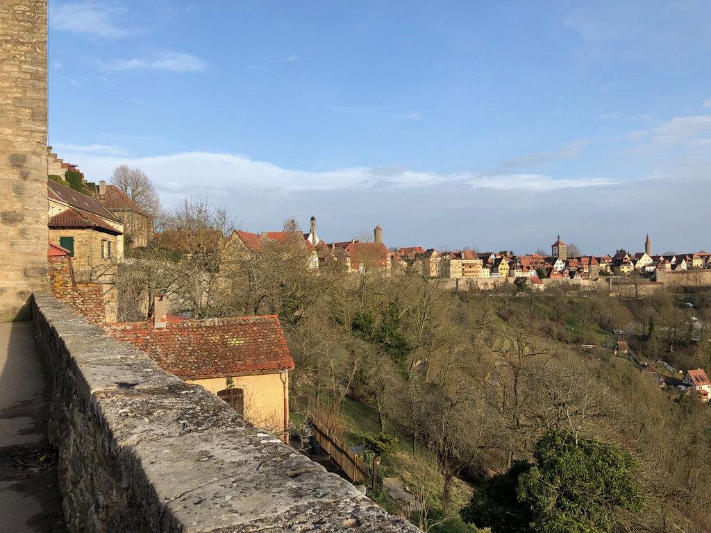 Blick vom Burggarten