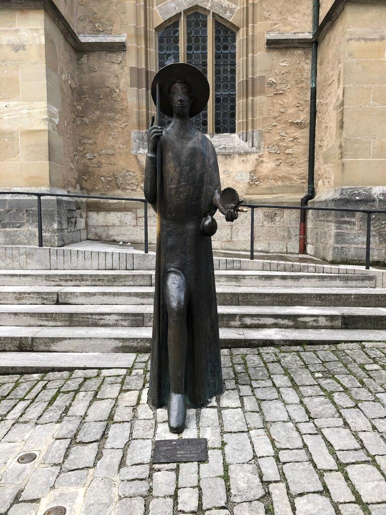 Statue Jakobsweg