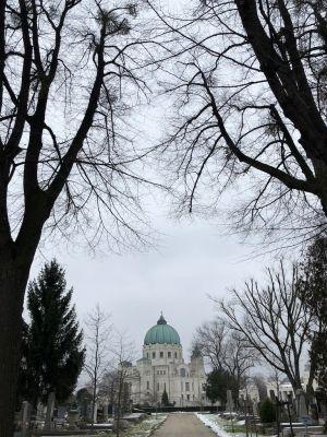 Die Dr. Karl-Lueger Gedächtniskirche am Zentralfriedhof