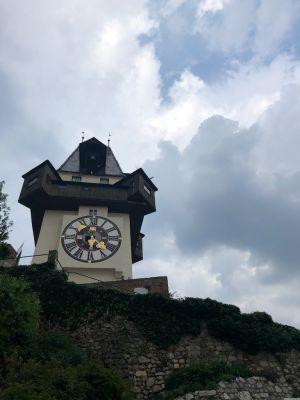 Uhrturm am Schlossberg in Graz