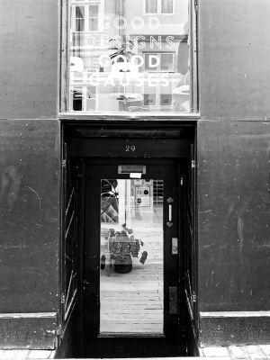 Eingangsbereich eines Gesfchäfts