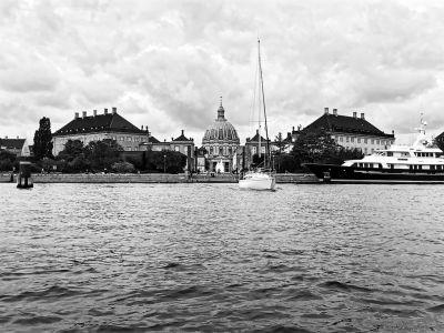 Amalienborg und Frederiks Kirke - Frederikskirche