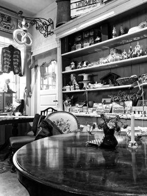Interieur im Café Mormors