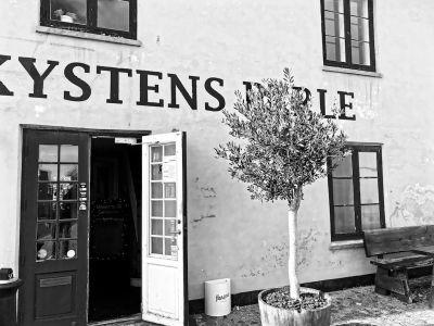 Außenansicht vom Café Kystens Perle