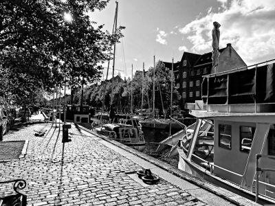Boote auf dem Christianshavn Kanal