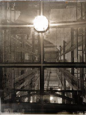 Decke des Aufzugs