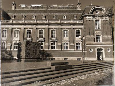 Die Fasade des Konzerthauses Laeiszhalle