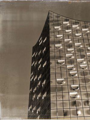 Futuristische Fasade der Elbphilharmonie