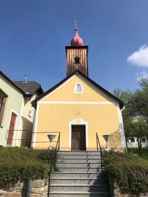 Kirche in Schmerbach am Kamp