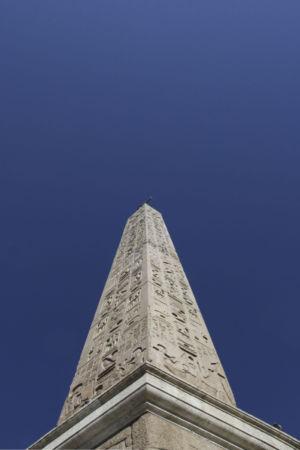Obelisk auf der Piazza del Popolo