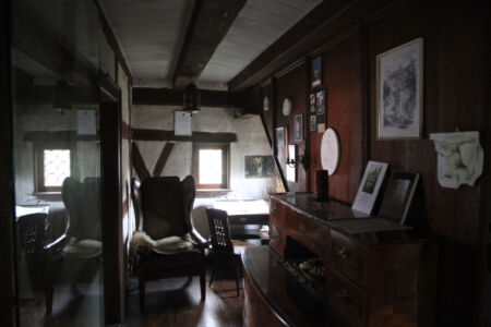 Das Arbeitszimmer im Topplerschlösschen