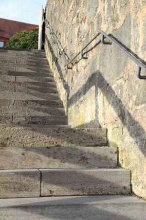 Treppe und Schatten Motiv